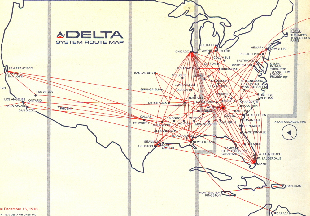 DL DFW Hub Routes - Airliners.net