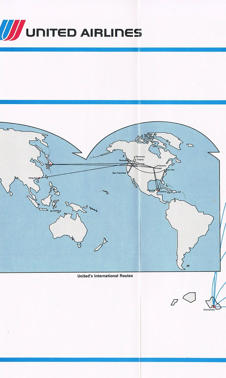 United Airlines March 2, 1983 Route Map on us airways route map, frontier airlines route map, united flight map, spirit airlines route map, jetblue route map, empire airlines route map, singapore airlines route map, alaska airlines route map, british airways route map, philippine airlines route map, american airlines route map, capital airlines route map, delta air lines route map, scandinavian airlines route map, westjet route map, qantas route map, southwest airlines route map, aer lingus route map,